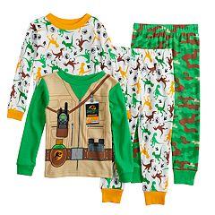 Toddler Boy Jurassic World Dinosaur Tops & Bottoms Pajama Set