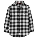 Boys 4-12 Carter's Plaid Button Down Shirt