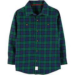 Boys 4-12 Carter's Plaid Button Down Shirt