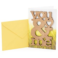 Hallmark Signature Anniversary 'Wooden You & Me' Greeting Card