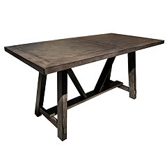 Right2Home Farmhouse Trestle Dining Table