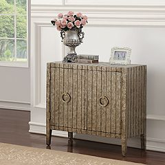 Right2Home Stamped Ornate Storage Cabinet