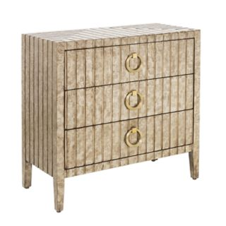 Right2Home Stamped Ornate 3-Drawer Dresser