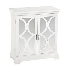 Right2Home Circle Mirrored Storage Chest