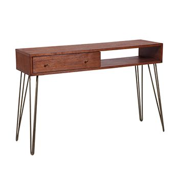 Right2home Mid Century Modern Console Table