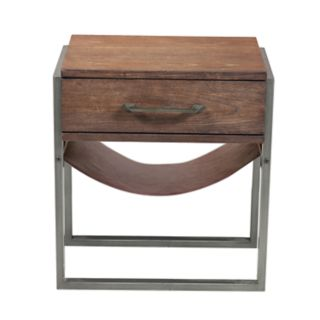 Right2Home Industrial End Table
