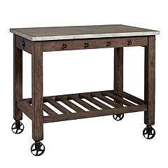 Right2Home Distressed Kitchen Island