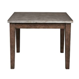 Right2Home Metal-Trim Dining Table