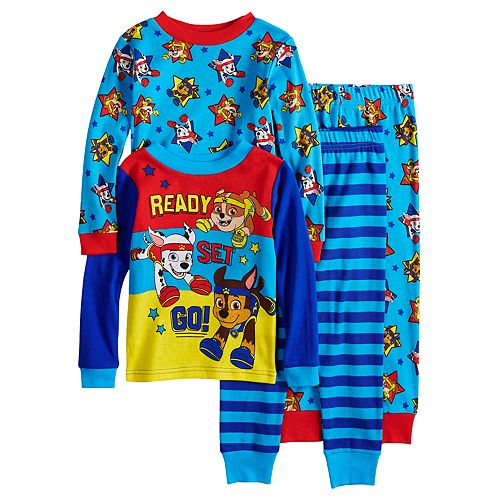 Baby Boy Paw Patrol Rubble, Marshall & Chase Tops & Bottoms Pajama Set