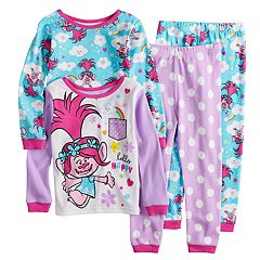 Toddler Girl DreamWorks Trolls Poppy Tops & Bottoms Pajama Set