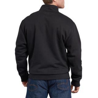 Men's Dickies Mobility Quarter-Zip Fleece Pull-Over Jacket