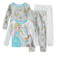 Disney's Frozen Elsa & Olaf Toddler Girl Tops & Bottoms Pajama Set