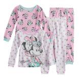 Disney's Minnie Mouse Toddler Girl Top & Bottoms Pajama Set
