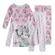 Disney's Minnie Mouse Toddler Girl Top & Bottoms Pajama Set