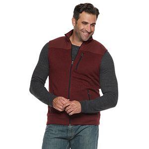 Big & Tall Sonoma Goods For Life® Sweater Fleece Vest
