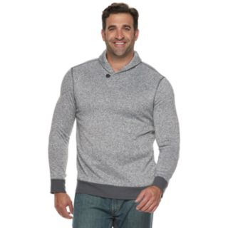 Big & Tall SONOMA Goods for Life? Supersoft Sweater Fleece Shawl-Collar Sweater