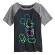 Disney's Mickey Mouse Boys 4-10 Raglan Graphic Tee by Jumping Beans®