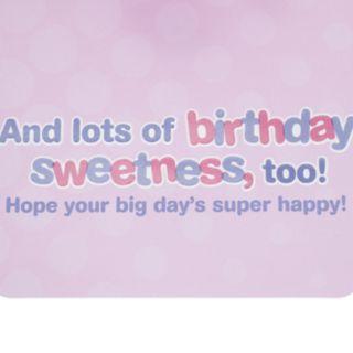 "Hallmark Birthday Greeting Card ""Sweetness"" Kids Greeting Card"