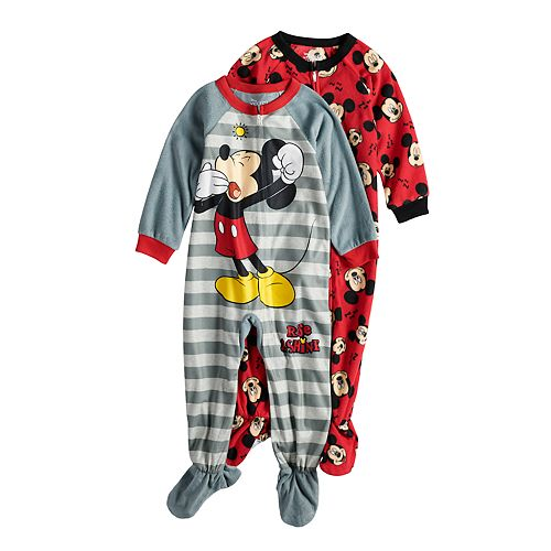 435c101a990 Disney's Mickey Mouse Toddler Boy 2-pack Fleece Footed Pajamas