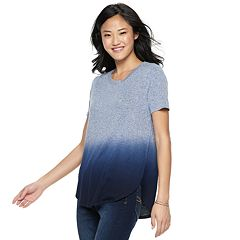 Juniors' Mudd® Shirttail Short Sleeve Tee