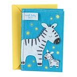 "Hallmark Signature New Baby ""Sweet Baby Boy"" Greeting Card"