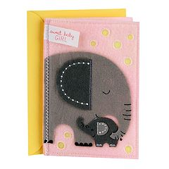 Hallmark Signature New Baby 'Sweet Baby Girl' Greeting Card