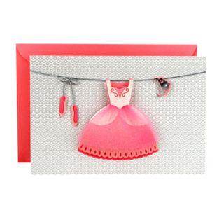 "Hallmark Signature Birthday ""Ballerina Princess"" Greeting Card"