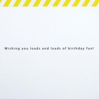 "Hallmark Signature Birthday ""Loads of Birthday Fun"" Greeting Card"