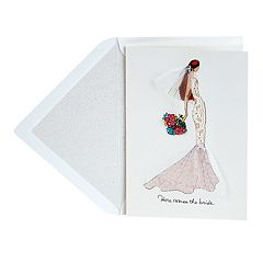 Hallmark Signature Wedding 'Here Comes the Bride' Greeting Card