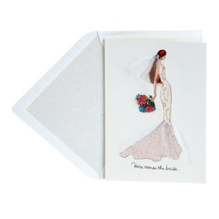 "Hallmark Signature Wedding ""Here Comes the Bride"" Greeting Card"