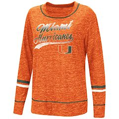 Women's Miami Hurricanes Giant Dreams Tee
