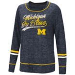 Women's Michigan Wolverines Giant Dreams Tee
