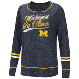 Women's Michigan Wolverines Giant Dreams Tee