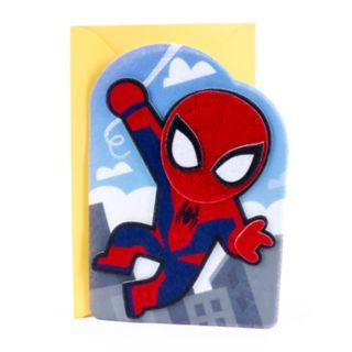 "Hallmark Birthday ""Spider-Man"" Kids Greeting Card"