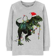 Boys 4-12 Carter's Holiday T-Rex Dinosaur Graphic Tee