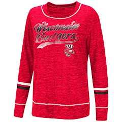 Women's Wisconsin Badgers Giant Dreams Tee