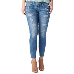 Juniors' DENIZEN from Levi's Low-Rise Slim Ankle Jeans