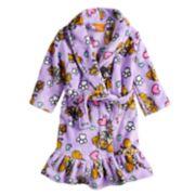 Toddler Girl Paw Patrol Skye Ruffled Robe