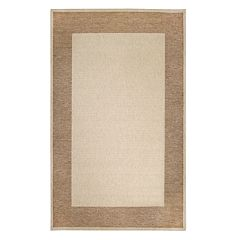 Liora Manne Belmont Framed Border Indoor Outdoor Rug