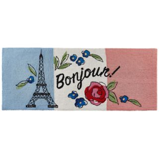Liora Manne Frontporch ''Bonjour'' Indoor Outdoor Rug