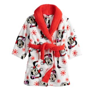 Disney's Minnie Mouse Toddler Girl Christmas Robe