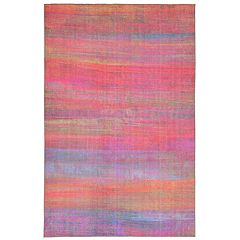 Liora Manne Havana Stripe Abstract Indoor Outdoor Rug