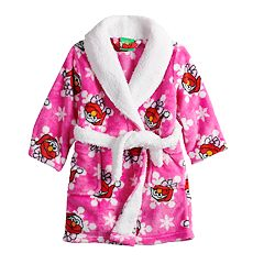 Toddler Girl Sesame Street Elmo Christmas Robe