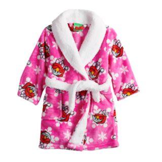 Toddler Girl Sesame Street Elmo Christmas Robe