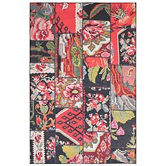 Liora Manne Havana Collage Patchwork Indoor Outdoor Rug