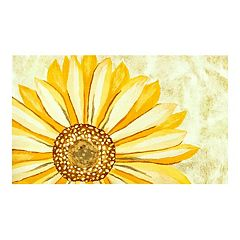 Liora Manne Illusions Sunflower Indoor Outdoor Doormat - 19 1/2'' x 29 1/2''