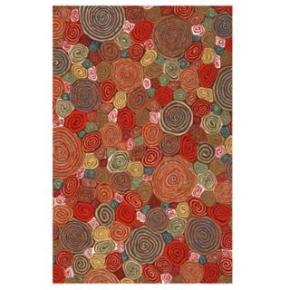 Liora Manne Illusions Giant Swirls Geometric Indoor Outdoor Doormat