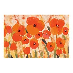 Liora Manne Illusions Poppies Floral Indoor Outdoor Doormat - 19 1/2'' x 29 1/2''