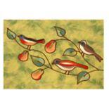 Liora Manne Illusions Song Birds Indoor Outdoor Doormat