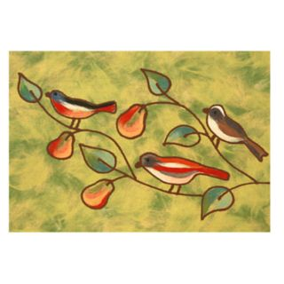 Liora Manne Illusions Song Birds Indoor Outdoor Doormat
